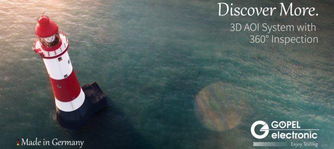 GOEPEL electronic организира уебинар '' 2D/3D концепции за AOI и техните възможности''